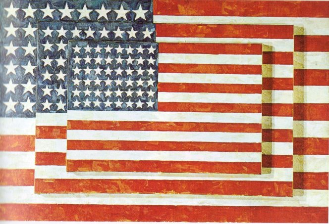 jpg_Jasper_Johns_Trois_drapeaux_1958