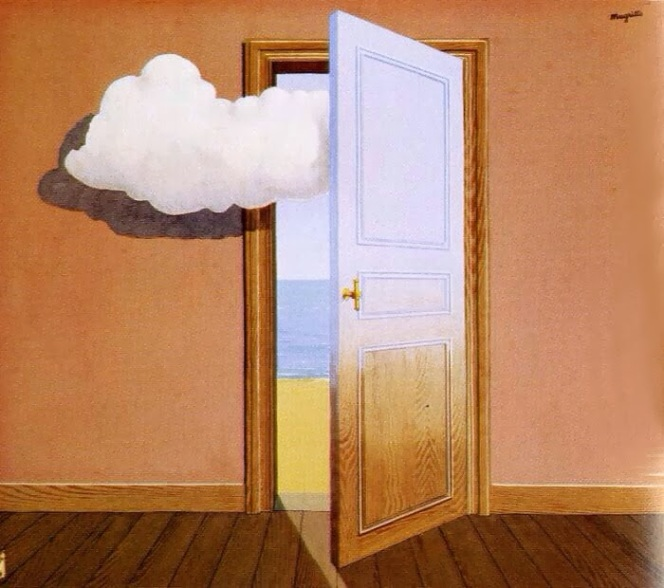 Fortune Telling by Rene Magritte