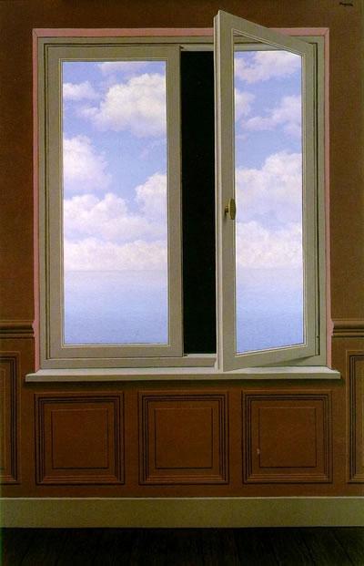 René-Magritte-La-lunette-dapproche-1963
