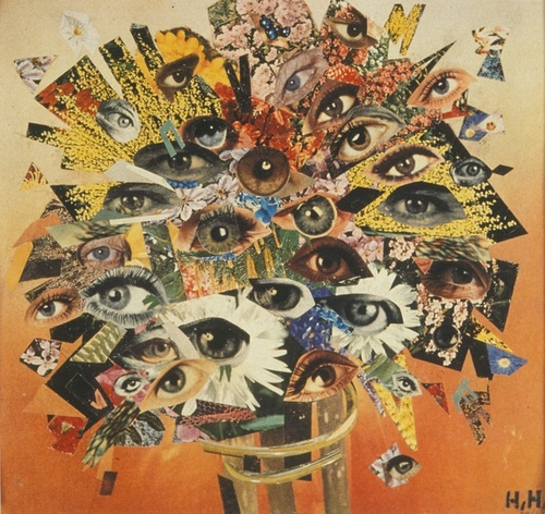 Bouquet of eyes- Hannah Hoch