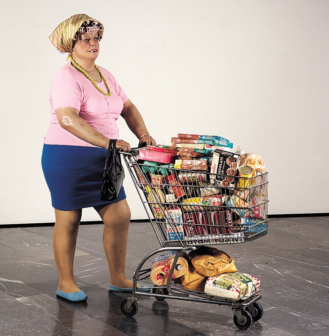 Duane-Hanson--Supermarket-Shopper--1970