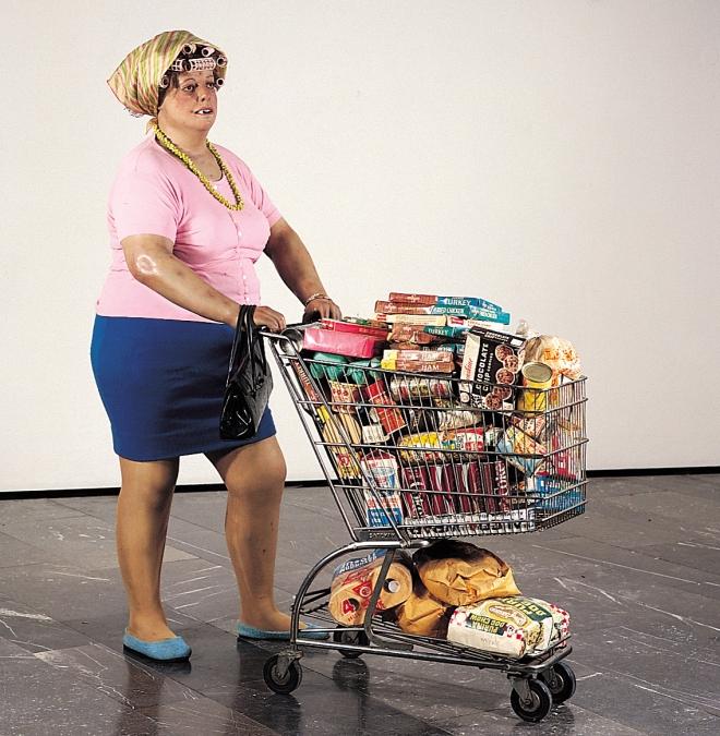 Duane-Hanson--Supermarket-Shopper--1970