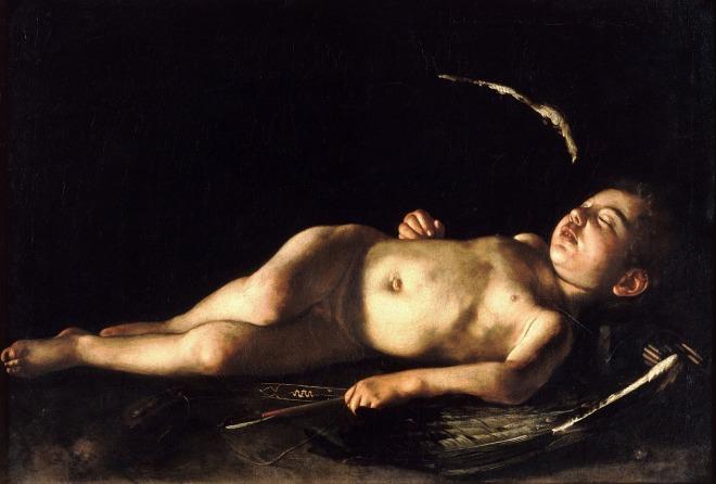 sleeping_cupid-caravaggio_1608-wiki