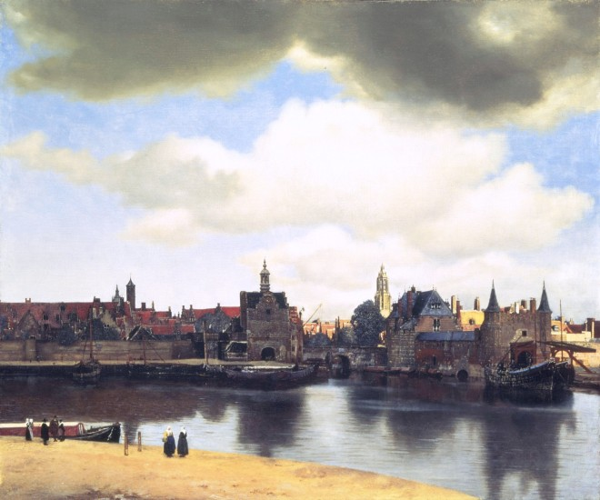 Vermeer-view-of-delft