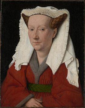 280px-Portrait_of_Margaret_van_Eyck