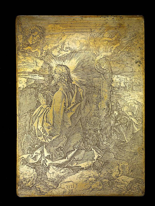 640px-Albrecht_Dürer_Druckplatte_Christus_am_Ölberg