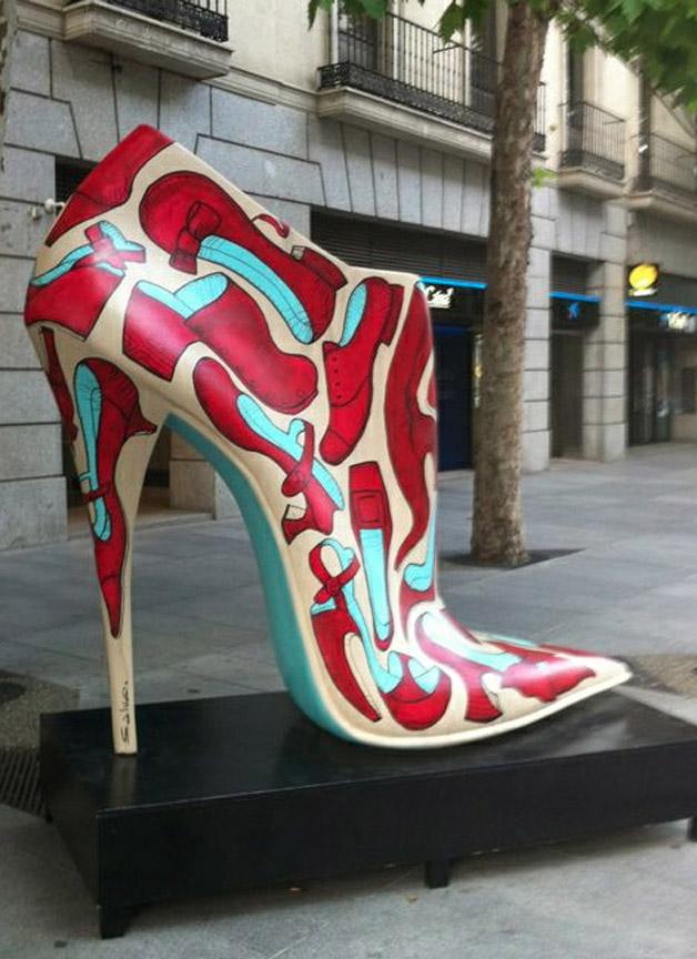 Chaussure Visuel chaussure Art Madrid Geante zqSVMUp