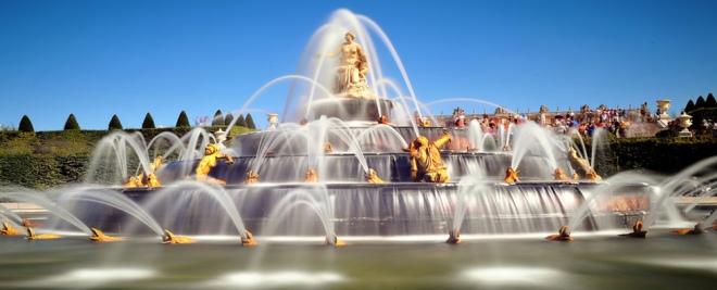 fontaines du jardin de versailles