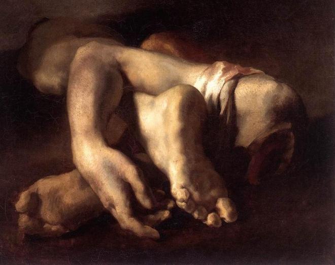 géricault mains