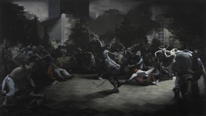 Guillaume-Bresson-Sans-titre-2008.-Huile-sur-toile