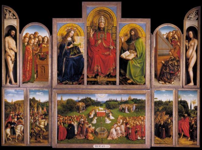jan-van-eyck-le-retable-de-l-adoration-de-l-agneau-mystique-ouvert-1432