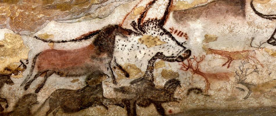 Le dessin dans l art arts plastiques - Coloriage grotte ...