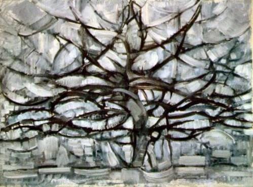 Mondrian_Arbre_gris_originale_