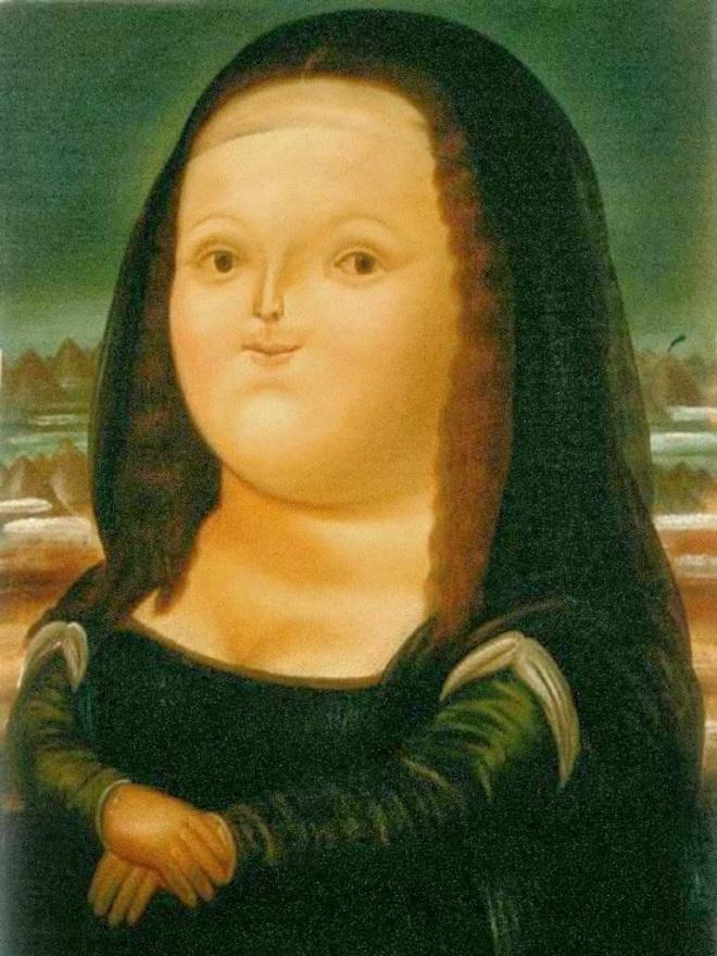 botero Monalisa a 12 ans