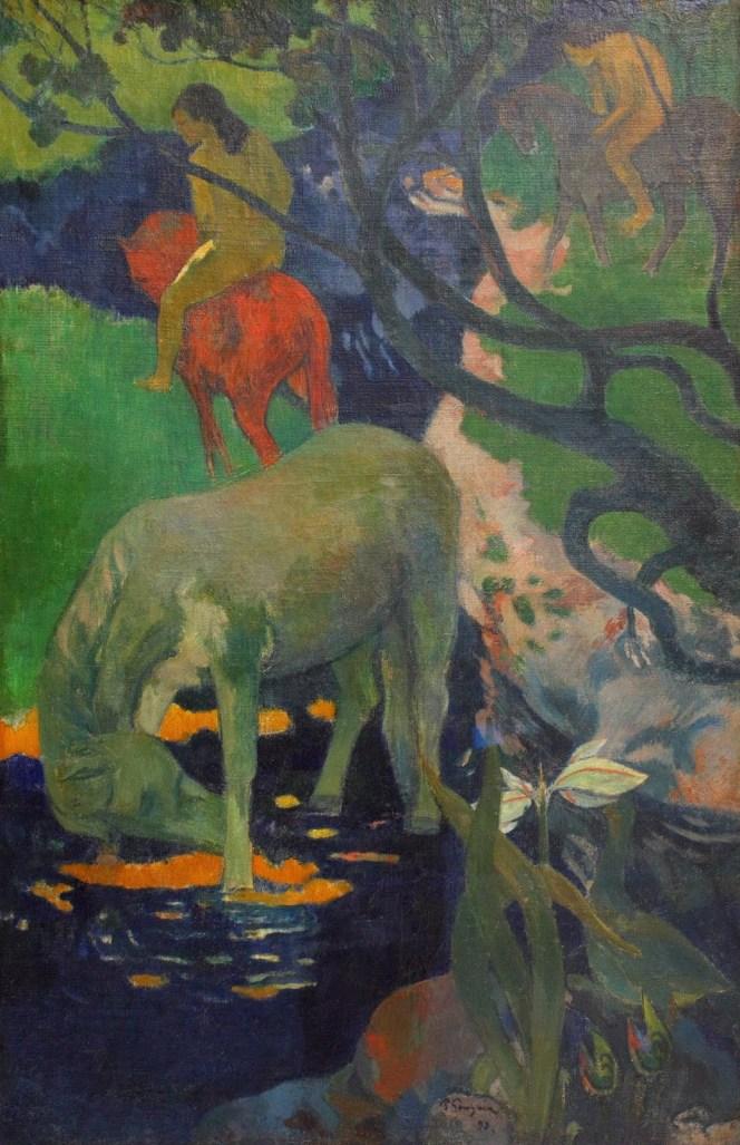 Paul Gauguin - Le cheval blanc en 1898