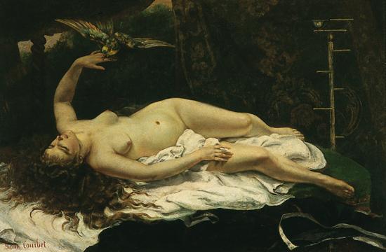 1312374-Gustave_Courbet_la_Femme_au_perroquet