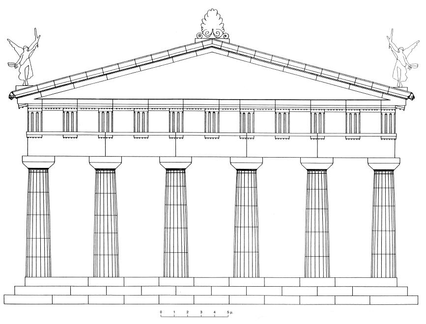 Le rythme dans l art arts plastiques for Architecture grec