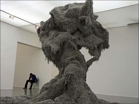 La terre dans l art contemporain arts plastiques for Art contemporain sculpture