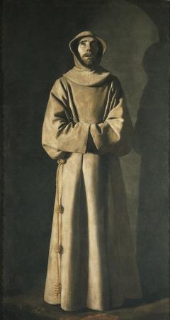 Francisco de Zurbaran - Saint francois (vers 1650)