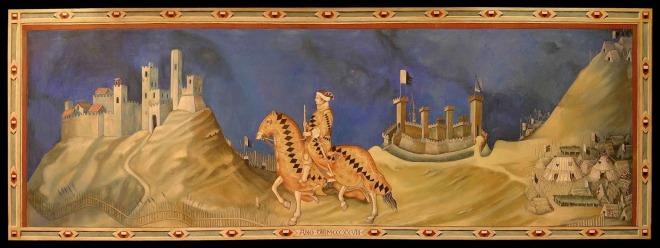 'Guidoriccio da Fogliano' (from Simone Martini, 2006-2007)