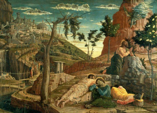 mantegna priere au jardin des oliviers