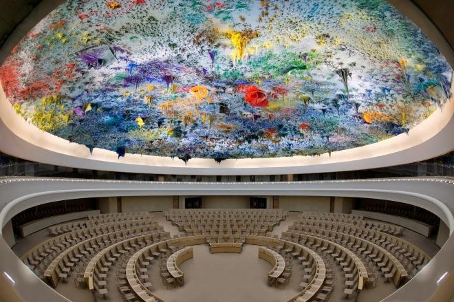barcelo salle des droits de l'homme ONU Madrid 2009