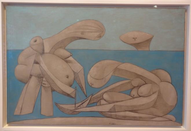 Picasso-La-baignade-1937