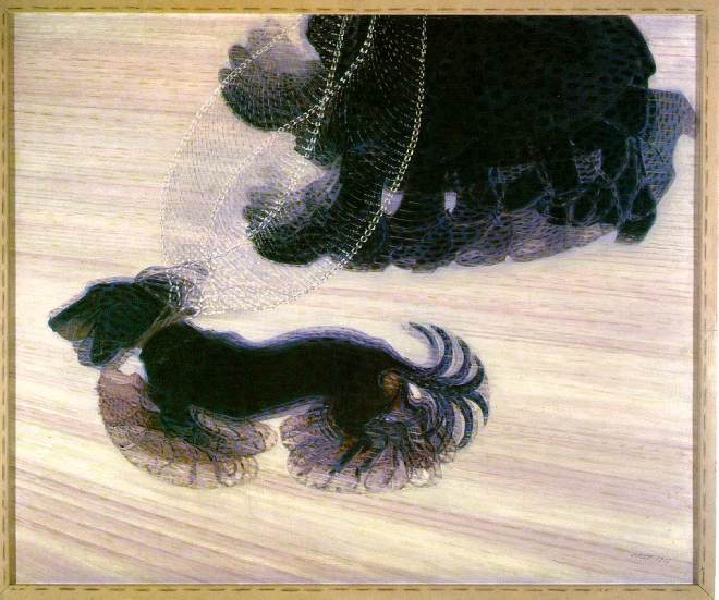 Giacomo-Balla-Dynamisme-dun-chien-1912-huile-sur-toile-90x110-cm-Art-Gallery-Buffalo-Etat-de-N.York_