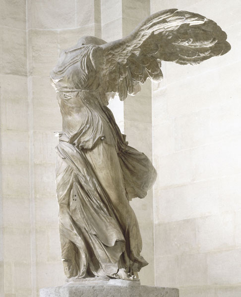 B La victoire de Samothrace, Antiquité grecque, 190 av J-C.