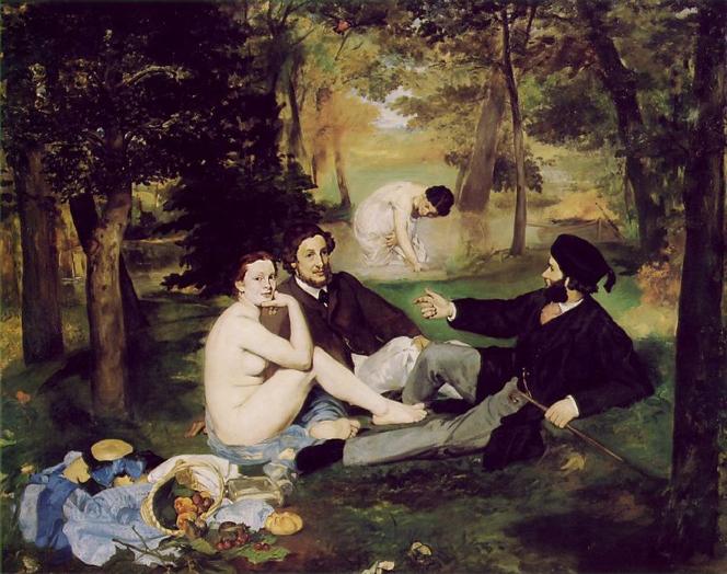 Edouard_Manet_Dejeuner_sur_l'Herbe_1863