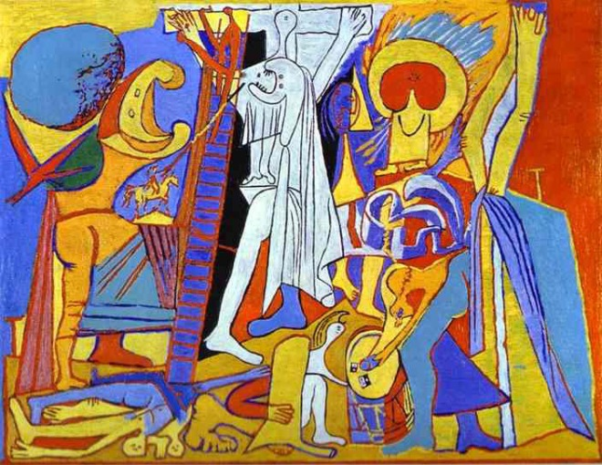 20 Pablo Picasso. Crucifixion. 1930. Oil on wood.....Olga s gallery