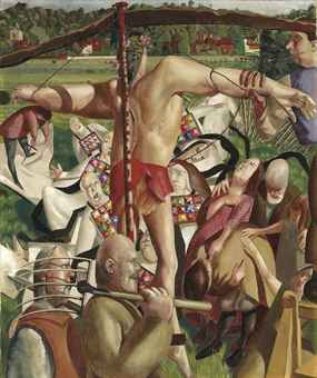 sir_stanley_spencer_ra_the_crucifixion_d5442814h