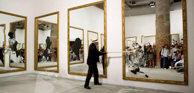 Le miroir dans l art arts plastiques for Miroir dans l art
