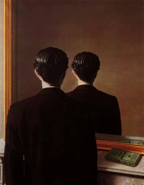 magritte-miroir