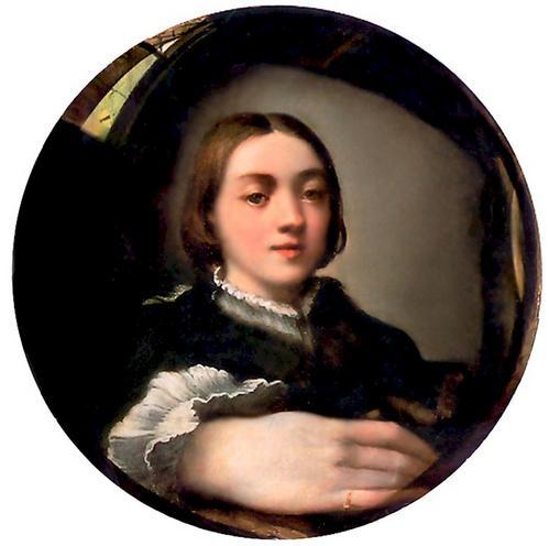 parmesan_portrait_dans_un_miroir_convexe