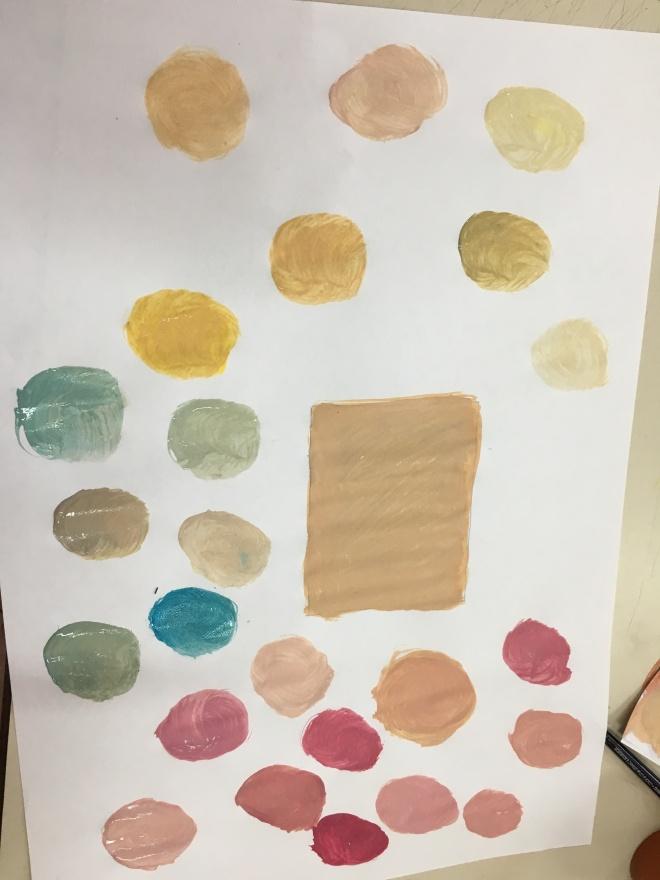 les nuances de couleurs td du 1 u2013 arts plastiques